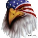 War Paint Eagle Cross Stitch Pattern Birds Patriotic ETP
