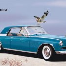 Studebaker Hawk Cross Stitch Pattern 1950's Car ETP
