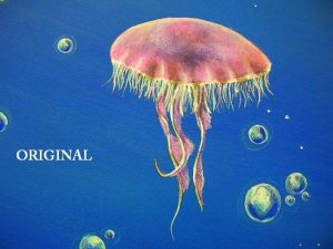 Jellyfish Cross Stitch Pattern ETP