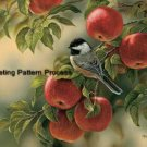 Chickadee Cross Stitch Pattern Birds ETP