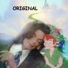 Michael Jackson & Peter Pan Cross Stitch Pattern Neverland ETP