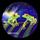 Red Eyed Tree Frogs 4 Cross Stitch Pattern ETP