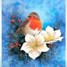 Christmas Robin Cross Stitch Pattern Birds ETP