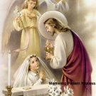 First Communion Girl Cross Stitch Pattern Catholic ETP