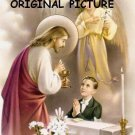 First Communion Boy Cross Stitch Pattern Catholic ETP