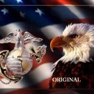 Marine Corpe Eagle Cross Stitch Pattern Birds Patriotic ETP