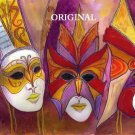 Carnival Masks Cross Stitch Pattern ETP
