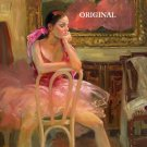 Degas ~ Style Ballerina Cross Stitch Pattern Ballet ETP