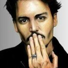 Johnny Depp Portrait Cross Stitch Pattern ETP