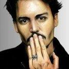 Johnny Depp Portrait Cross Stitch Pattern ETP