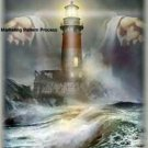Gods Lighthouse Cross Stitch Pattern Jesus Christian ETP