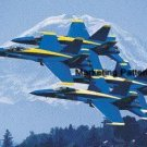Navy Blue Angels Cross Stitch Pattern Military Aircraft ETP