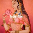 India Rani Cross Stitch Pattern Asian Harem ETP