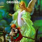 Guardian Angel Cross Stitch Pattern Children ETP