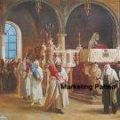 Rabbi's Torah Procession Cross Stitch Pattern Jewish ETP