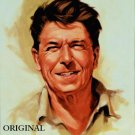 President Ronald Reagan Cross Stitch Pat America ETP