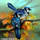 Fall Blue Jays Cross Stitch Pattern Birds