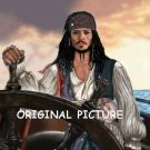 Johnny Depp Pirates Caribbean Cross Stitch Pattern ETP