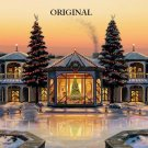 Christmas Mansion Cross Stitch Pattern ETP