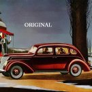 1937 Ford V-8 Cross Stitch Pattern Cars ETP