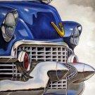 1950's Cadillac Grill Cross Stitch Pattern Cars ETP