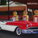 1950's Pontiac Convertible Cross Stitch Pattern Cars ETP