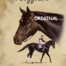 Ruffian Remembered Cross Stitch Pattern Race Horses ETP