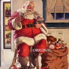 Coca Cola Santa Cross Stitch Pattern Christmas ETP