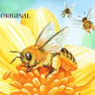 Honey Bees Cross Stitch Pattern ETP