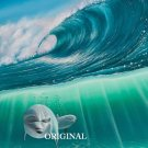 Dolphin Surf Cross Stitch Pattern Marine Fish ETP