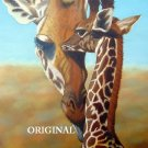 Giraffes Cross Stitch Pattern Africa ETP