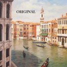Grand Canal Cross Stitch Pattern Grand Canal Venice Italy ETP