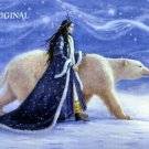 Polar Princess Cross Stitch Pattern Bear Fantasy ETP