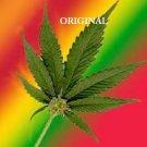 Pot Leaf Rainbow Cross Stitch Pattern Marijuana
