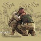 Soldier's Sacrifice Cross Stitch Pattern Military