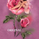 Rose Fairy Faery Cross Stitch Pattern Fantasy ~ETP~