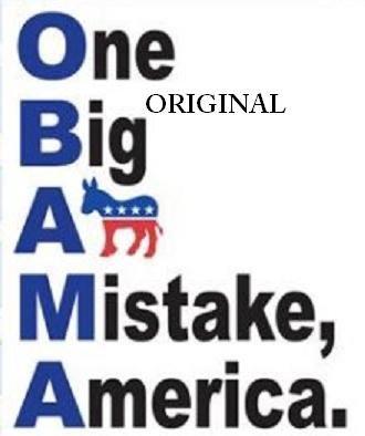 O~B~A~M~A Mistake America Cross Stitch Pattern ~ETP~