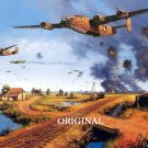 WWII Bombing Run Cross Stitch Pattern Military ~ETP~