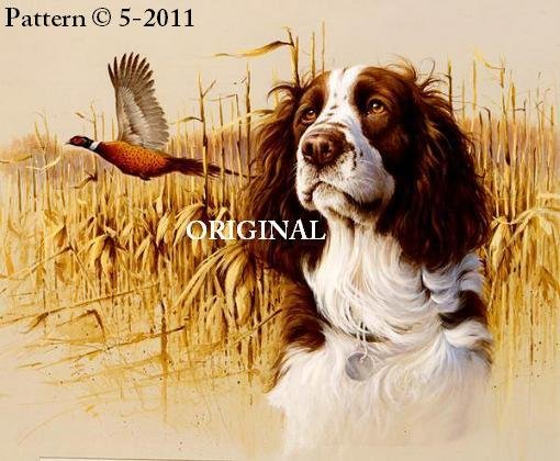 Springer Spaniel Cross Stitch Pattern Dogs ~ETP~