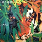 Tiger~Looking @ You! Cross Stitch Pattern Cats ~ETP~