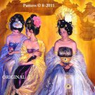 Oriental Royalty Cross Stitch Pattern ~ETP~