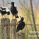3 Magpies Cross Stitch Pattern Birds ~ETP~