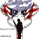 A Soldier's Angel #2 Cross Stitch Pattern USA Patriotic ~ETP~