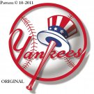 New York Yankees #1 Cross Stitch Pattern Baseball ~ETP~