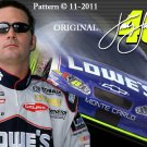 Jimmie Johnson~NASCAR Cross Stitch Pattern ~ETP~