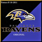 Baltimore Ravens #4 Cross Stitch Pattern NFL Football ~ETP~