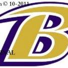 Baltimore Ravens Logo #1 Cross Stitch Pattern NFL Football ~ETP~