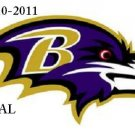 Baltimore Ravens Logo #2 Cross Stitch Pattern NFL Football ~ETP~