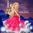 Barbie in Paris Cross Stitch Pattern Disney ~ETP~