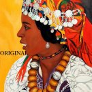 African Beauty Cross Stitch Pattern ~ETP~